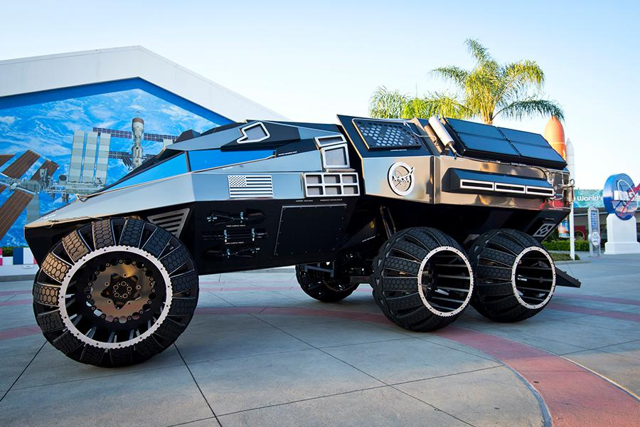 NASA Mars Rover Looks Like It Came From The Future To Explore An Alien Planet