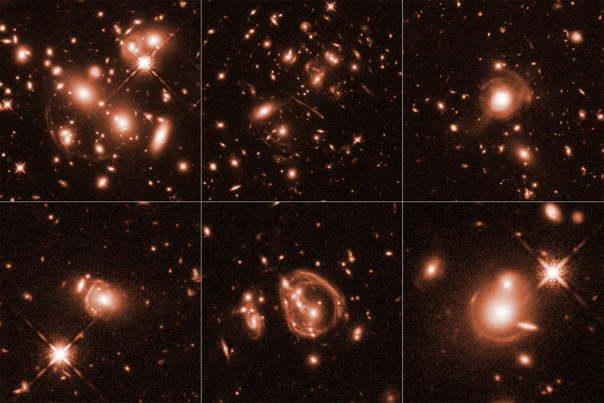 NASA's Hubble Spots Universe's Brightest Galaxies, Thanks To Gravitational Lensing