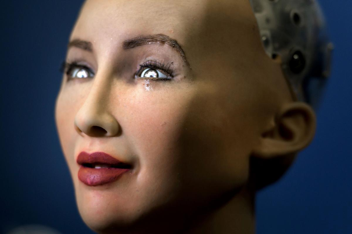 Humanoid Robot Argues That AI Technology Is 'Good For The World'