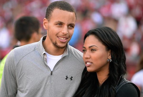 Steph curry wife ayesha show up at kent bazemores wedding photos junglespirit Gallery