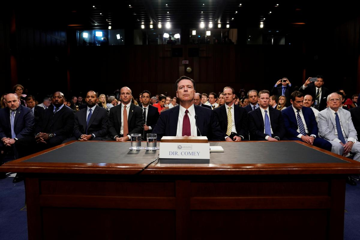 Republicans Grill Former FBI Director James Comey Over...