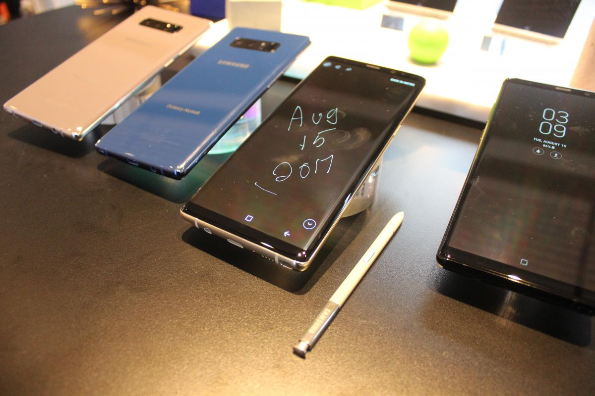 Samsung Galaxy Note 8 Freezing Is The Latest Smartphone Problem