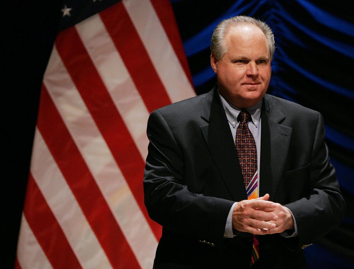 Rush Limbaugh Says On Radio Show His Lung Cancer Is Terminal