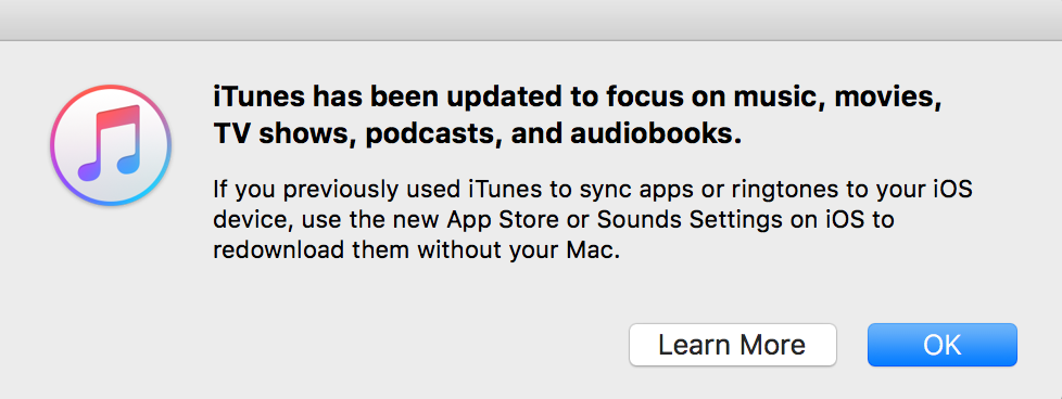 Apple Has Removed The Built-In App Store In iTunes 12 7