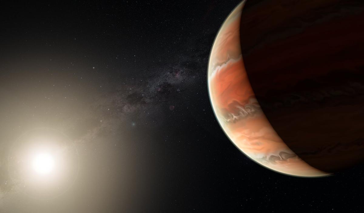 Scorching Hot Exoplanet Has Rare Titanium Atmosphere, Very Large Telescope Finds
