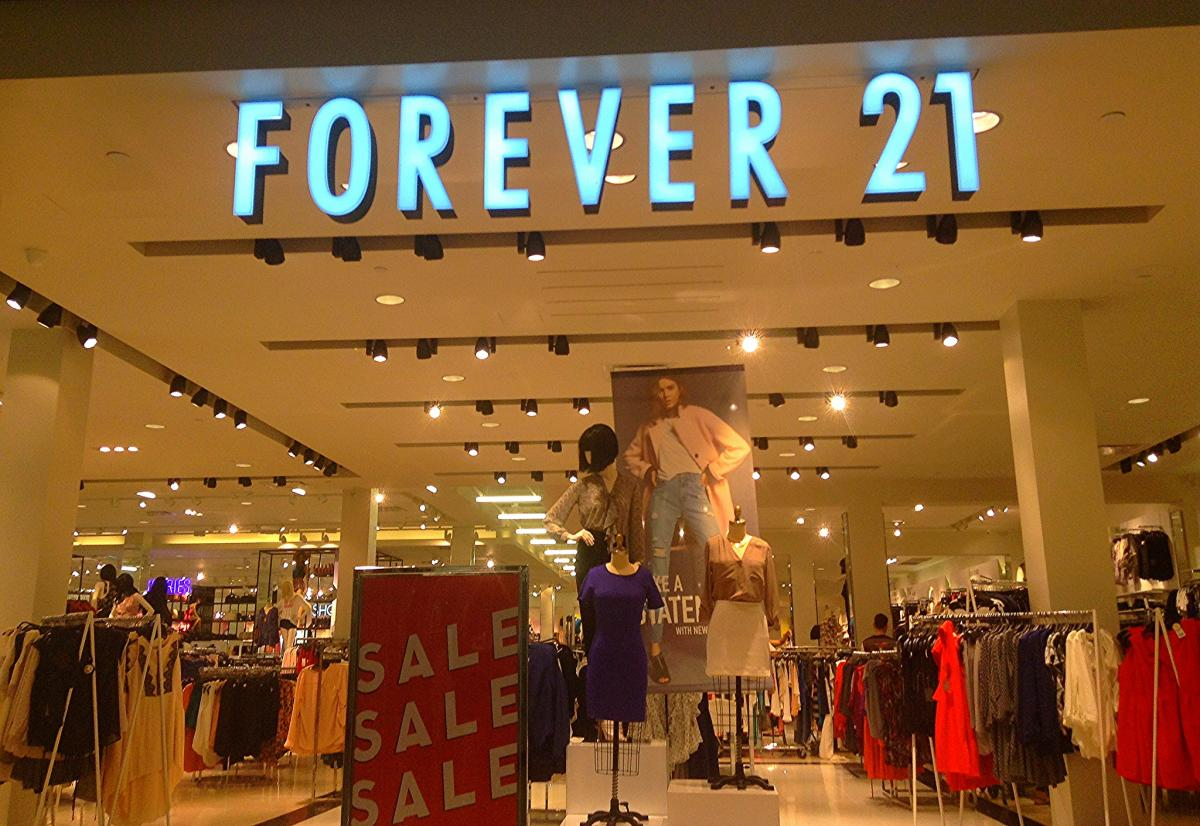 forever 21 is bankruptcy on the way for the teen clothing