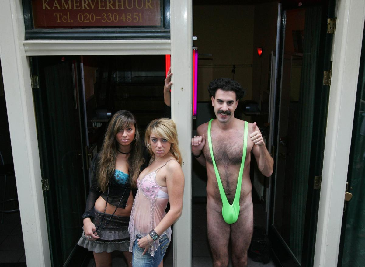 cd563e6e0e Tourists Arrested In Kazakhstan For Wearing 'Borat' Style Mankinis