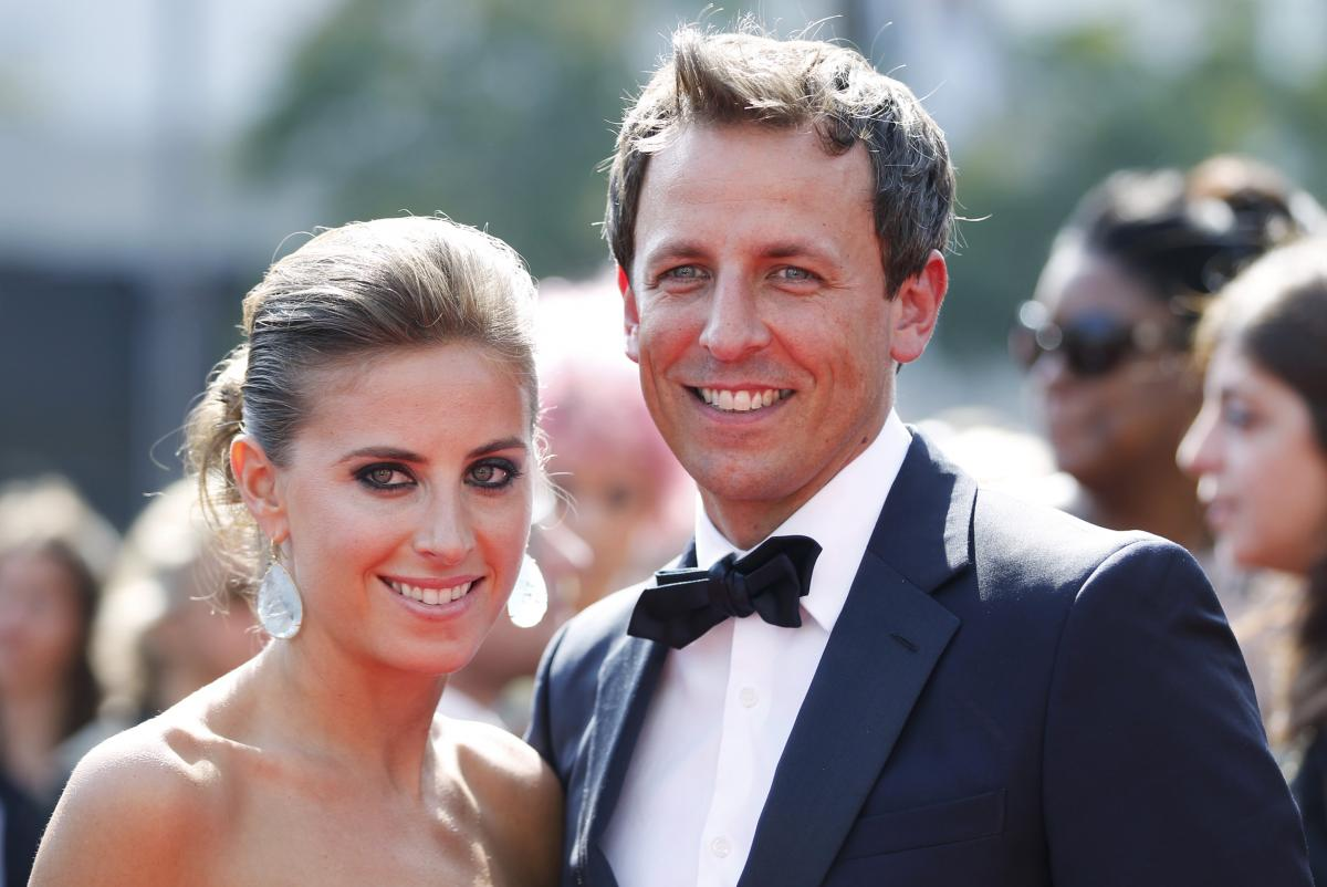 Late Night Host Seth Meyers Is Going To Be A Dad Again