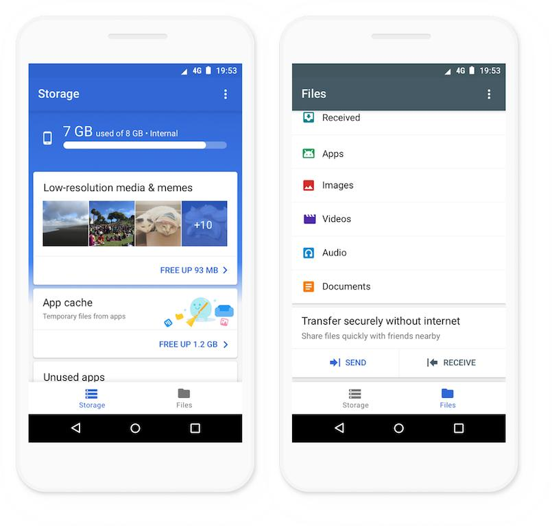 Google's Files Go Storage Manager App Now Available To All Users