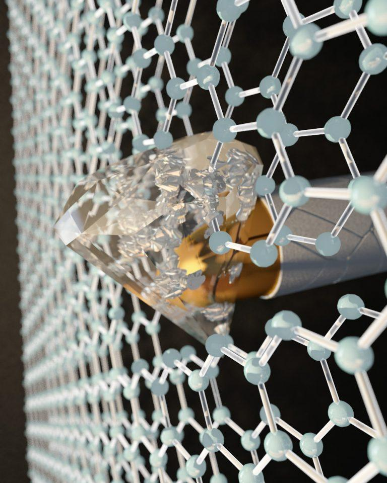 Bulletproof Graphene: Paper-Thin Material Becomes Harder Than Diamonds On Impact