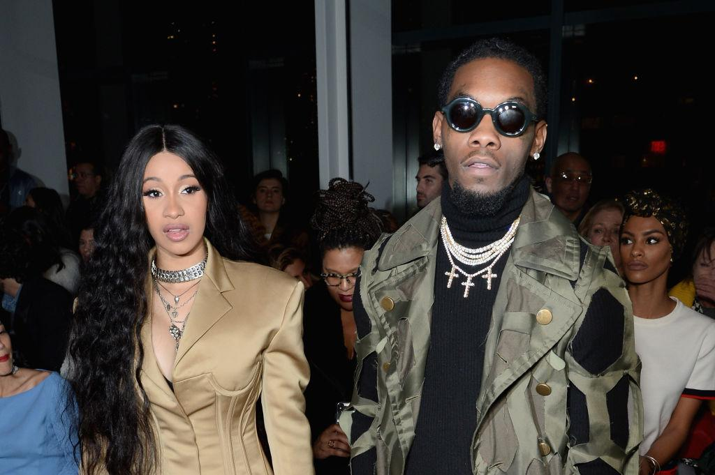 a5ed59957553 Cardi B Joins Offset On Stage For A Rare Performance Together