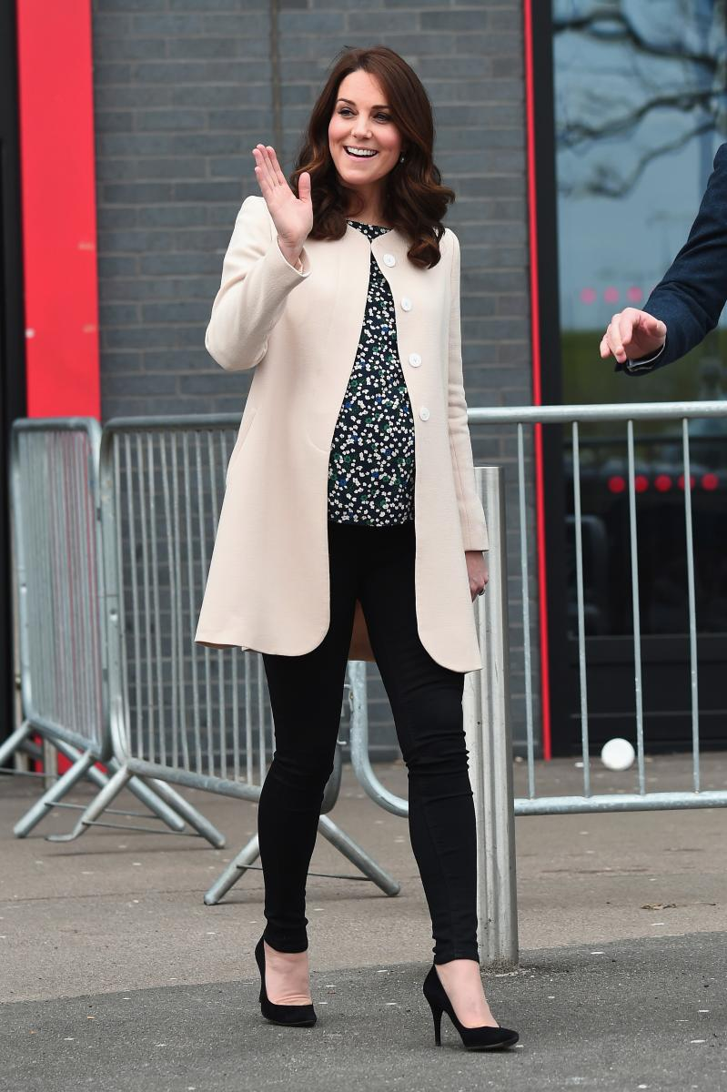 Kate Middleton Pregnancy St Mary Hospital Repainting