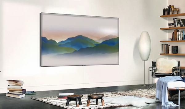 Samsung QLED TV's New Ambient Mode Explained