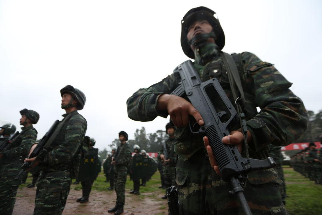 China Reportedly Develops Laser Rifle Capable Of Burning