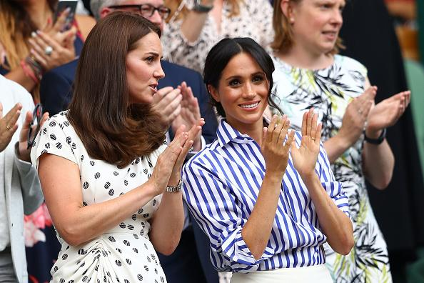 meghan markle did this at prince louis christening to complement kate middleton meghan markle did this at prince louis