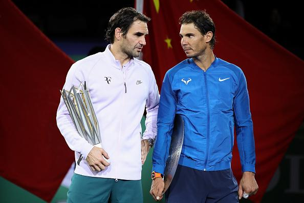 We Are Not Best Friends Roger Federer Says Of Rafael Nadal