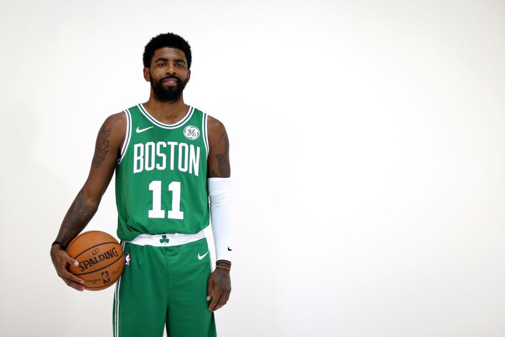 422ef5160e83 Celtics News  Kyrie Irving Sees No Reason To Leave  Effing Good  Boston