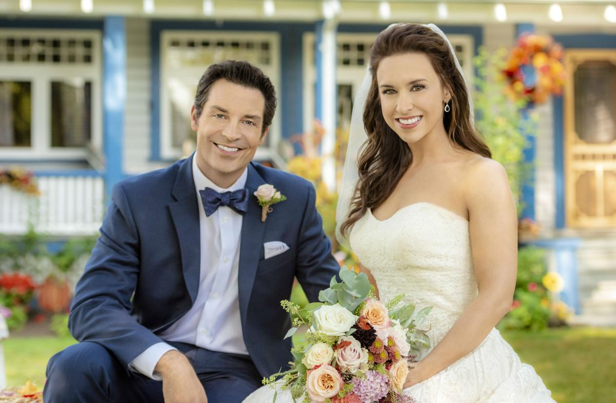 A Harvest Wedding Cast.Hallmark Channel All Of My Heart The Wedding Premiere See Cast