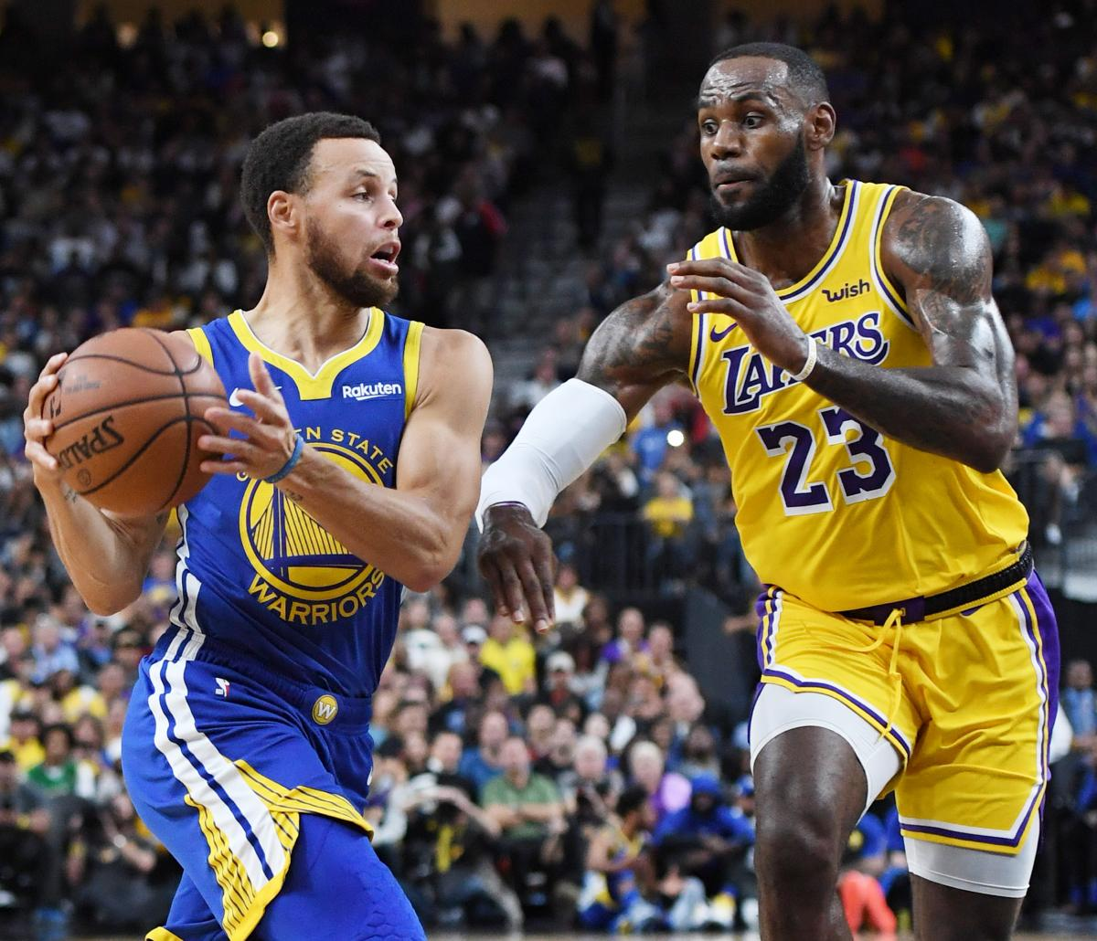 NBA 2018-2019 Season Predictions For Lakers, Warriors