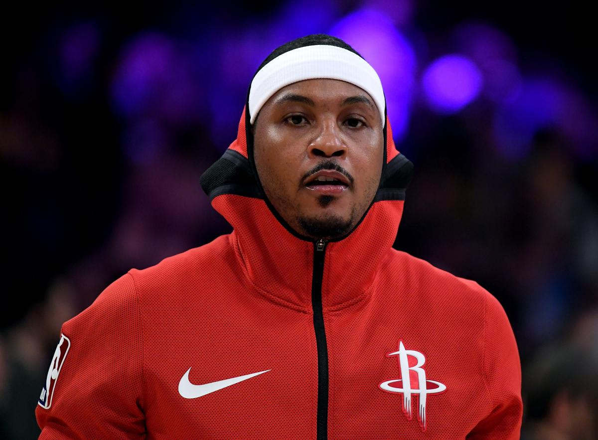 3b76307859d3 NBA s Carmelo Anthony Headed To Puerto Rico  Rockets Confirm Exit