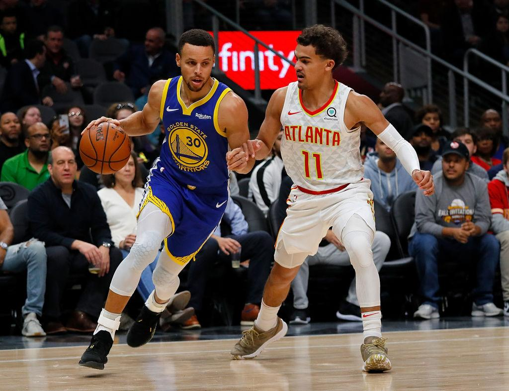 Stephen Curry tired of Trae Young comparisons