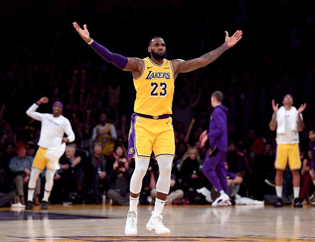 8e25f420e32 LeBron James Has Brought Back Aura For Lakers, Van Gundy Says