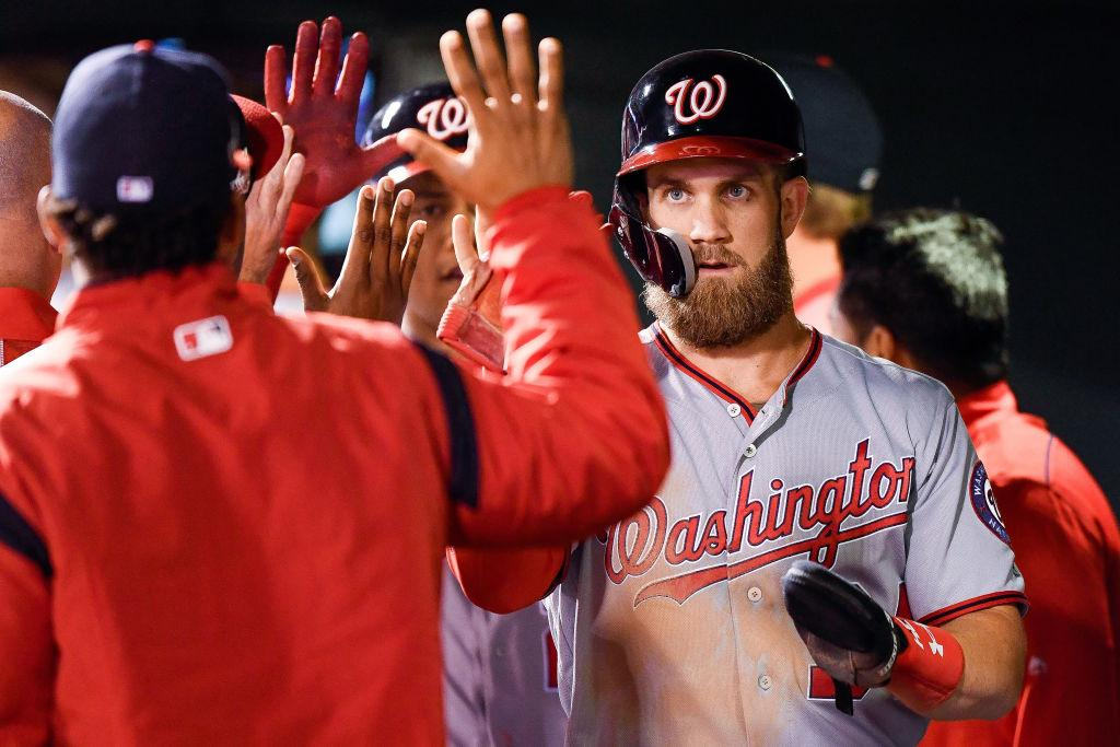 best loved e12a0 21a38 MLB Rumors: Cubs Request More Time From Bryce Harper To ...