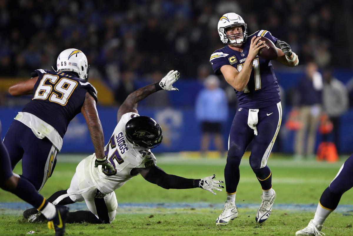 Chargers Vs Ravens 2019 Prediction Baltimore S Defense