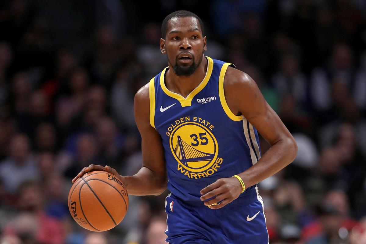 hot sale online f8f37 c514a Kevin Durant Should Leave Warriors, Move To Knicks, Tracy ...