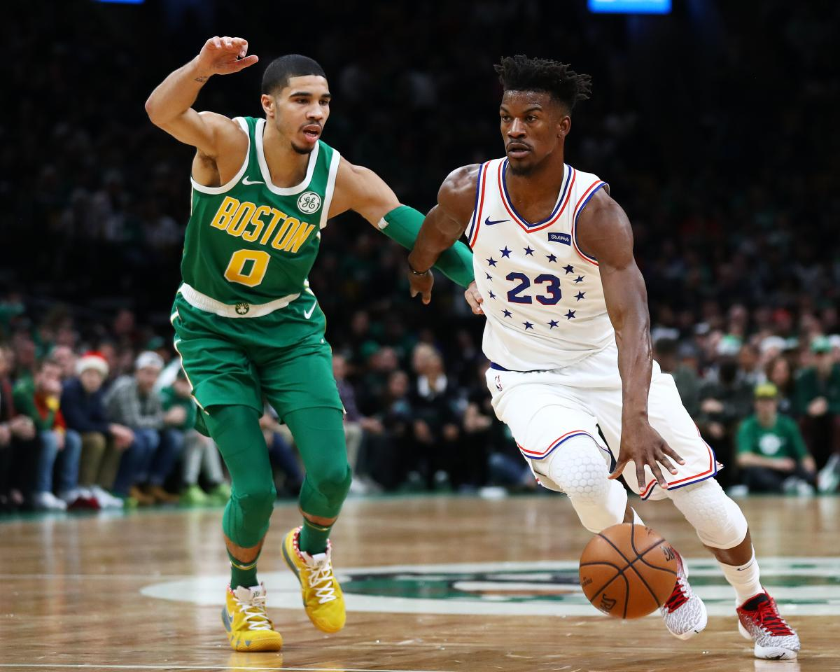 huge discount 4deae f8987 NBA Rumors: Jimmy Butler, Rockets Have Mutual Interest, How ...