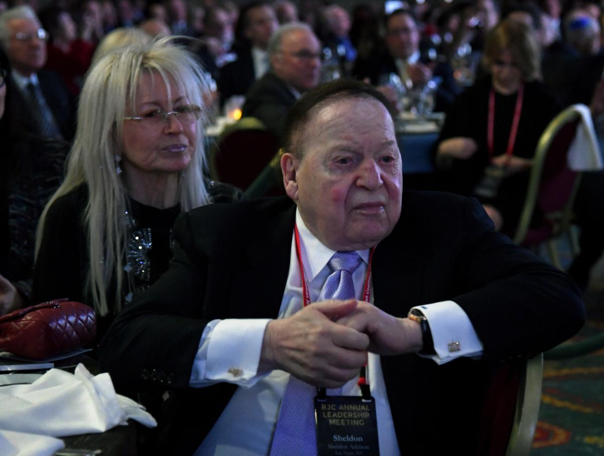 Sheldon Adelson's Wife: Meet Miriam Adelson, The ...