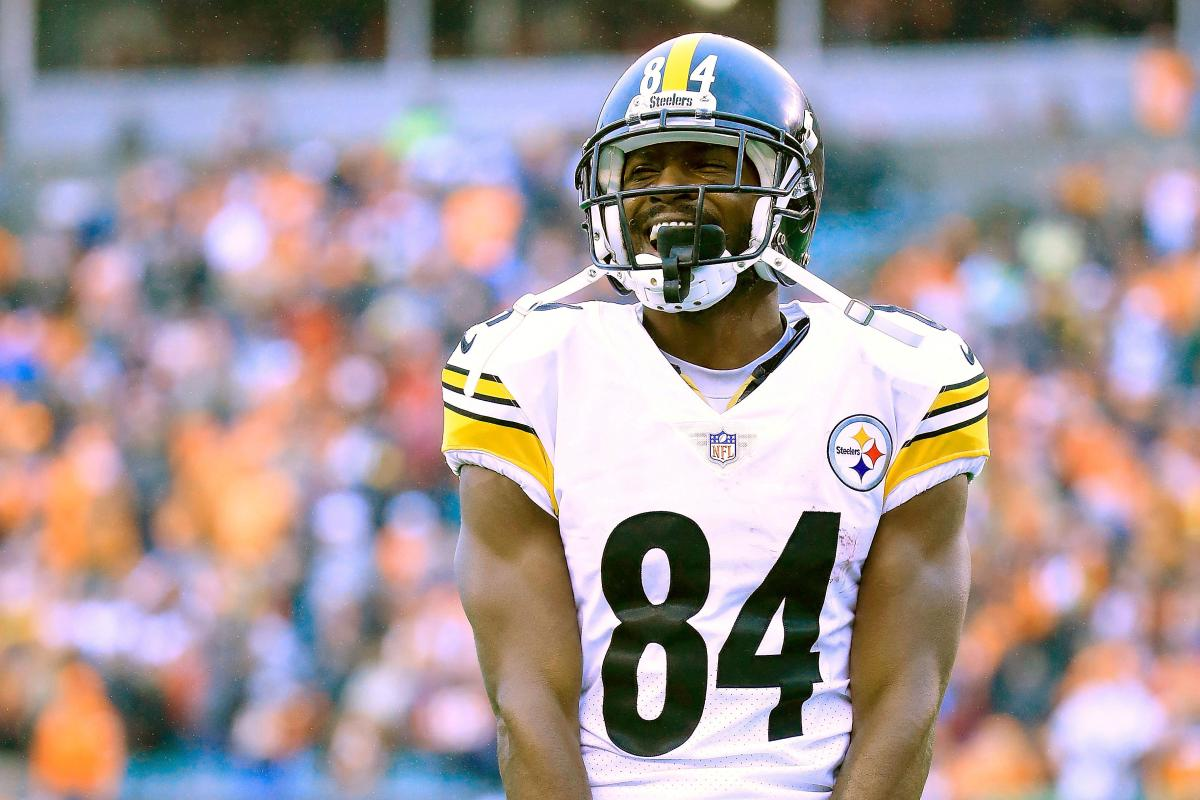 Antonio Brown Says Fake News To Bills Steelers Trade