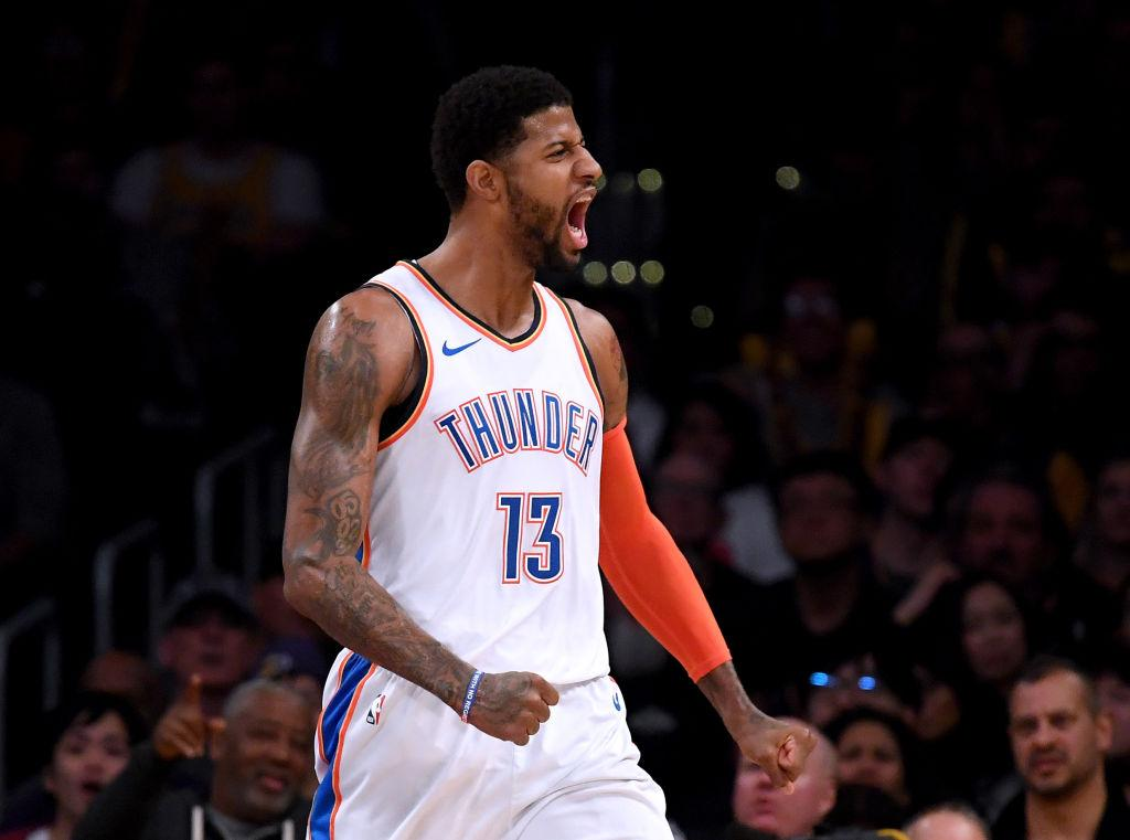 9ef2a40e6 Paul George remains firm that he made the right decision to join the OKC  Thunder over the Los Angeles Lakers during the last NBA free agency. Paul  George ...