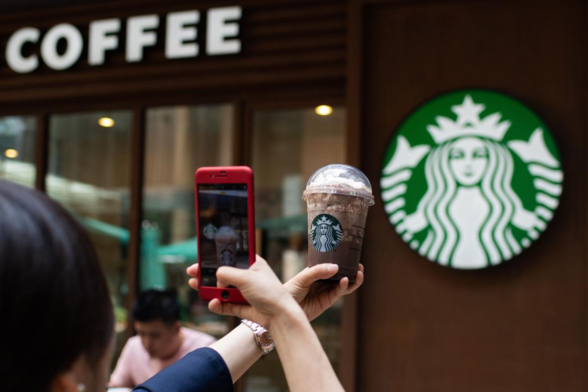 Sale Of Fake Starbucks Coffee In Chinese Supermarkets Coming