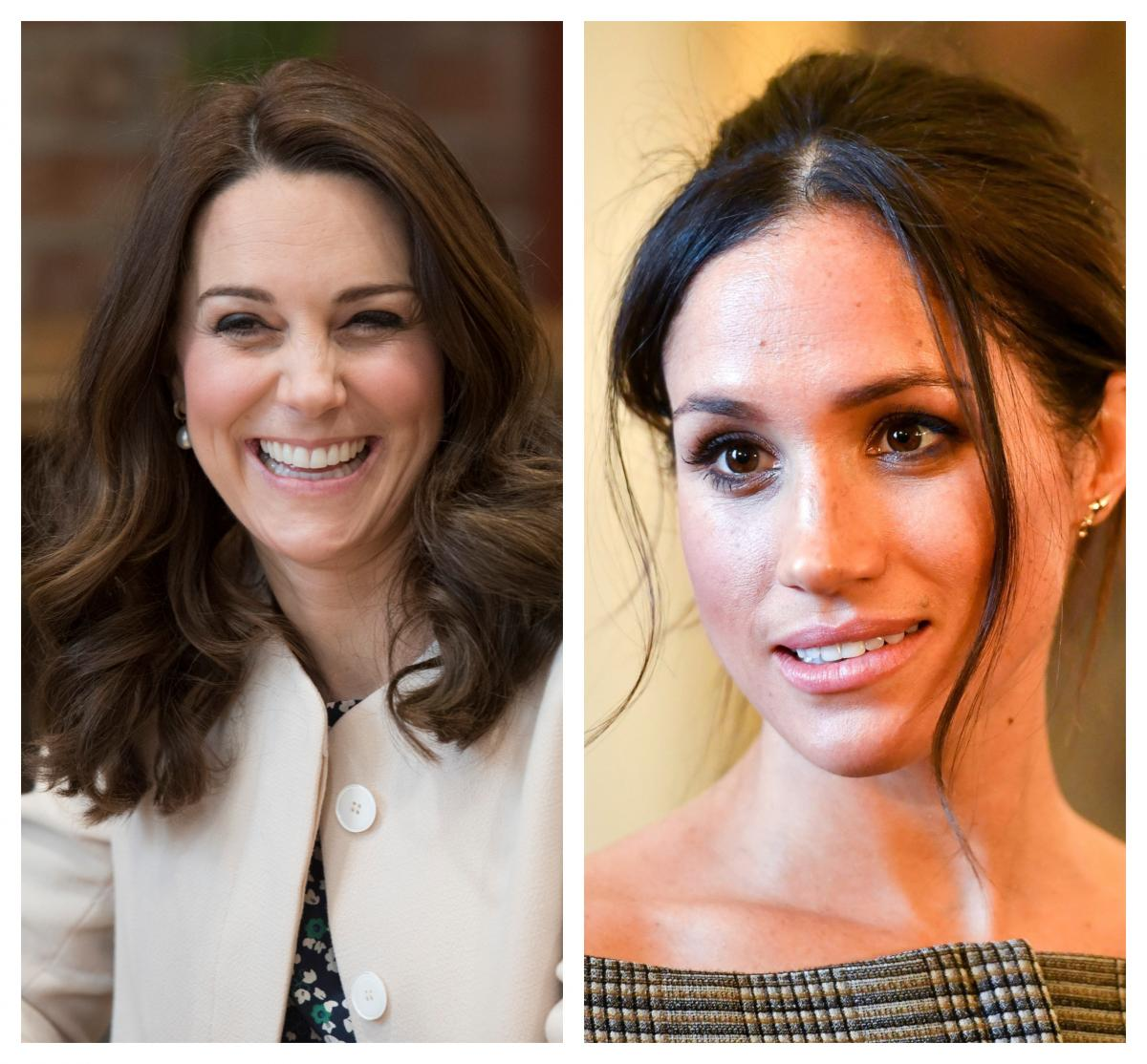 Princess Diana, Kate Middleton, Meghan Photographed With