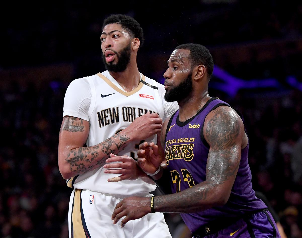 Nba Lebron James Anthony Davis Union Aided By Former Center