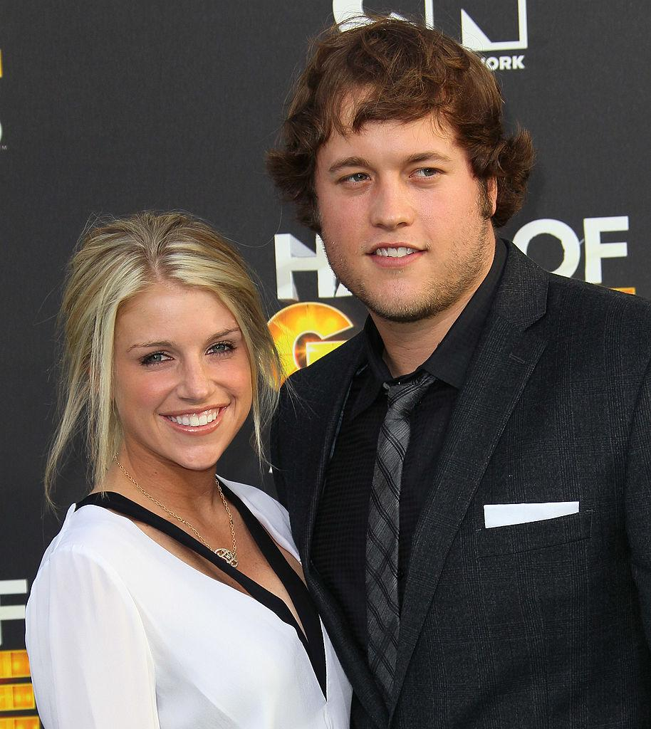 Who Is Kelly Stafford Wife Of Detroit Lions Qb Matthew Stafford