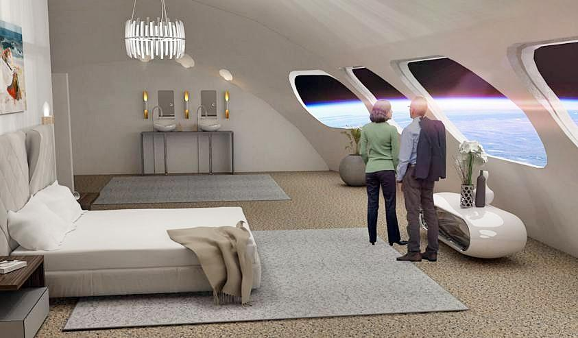 SpaceX Starship Will Fly Tourists To First-Ever Space Hotel With Fake Gravity [Watch]