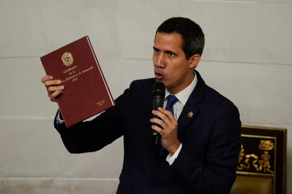 Venezuela's Guaido Defends Sanctions Against Maduro Regime