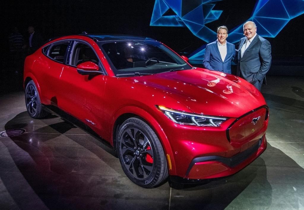 Ford Launches All Electric Mustang Suv