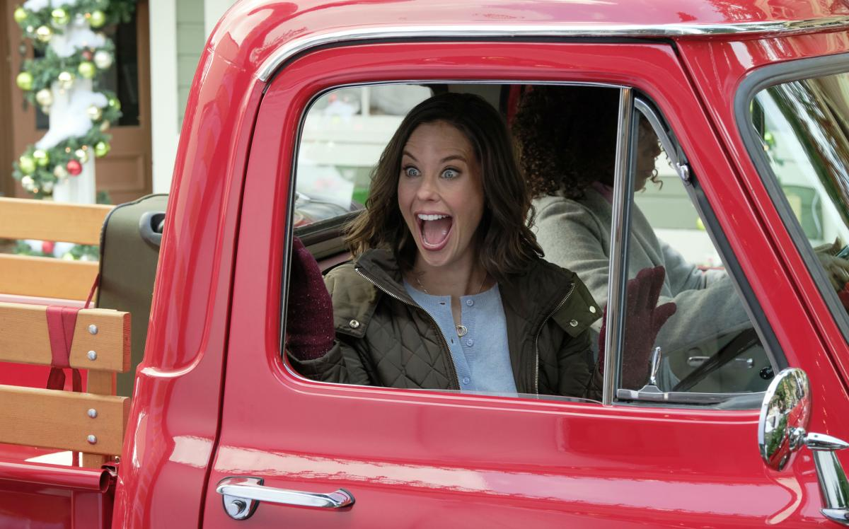 Star Ashley Williams Reveals Red Truck