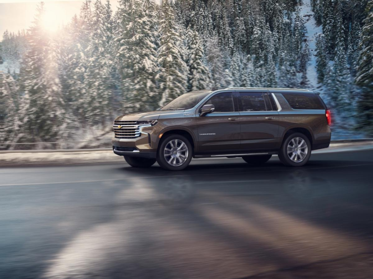 gm introduces new chevy tahoe  suburban  automaker adds space  features in full