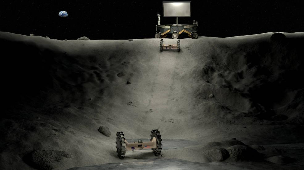NASA Unveils Student-Made Technologies For Exploring Moon's Dark Side - International Business Times