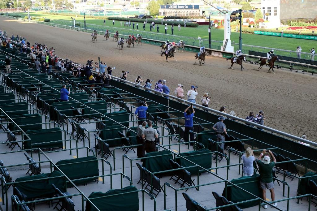 Churchill Downs Reopens For 2020's First Live Spectators