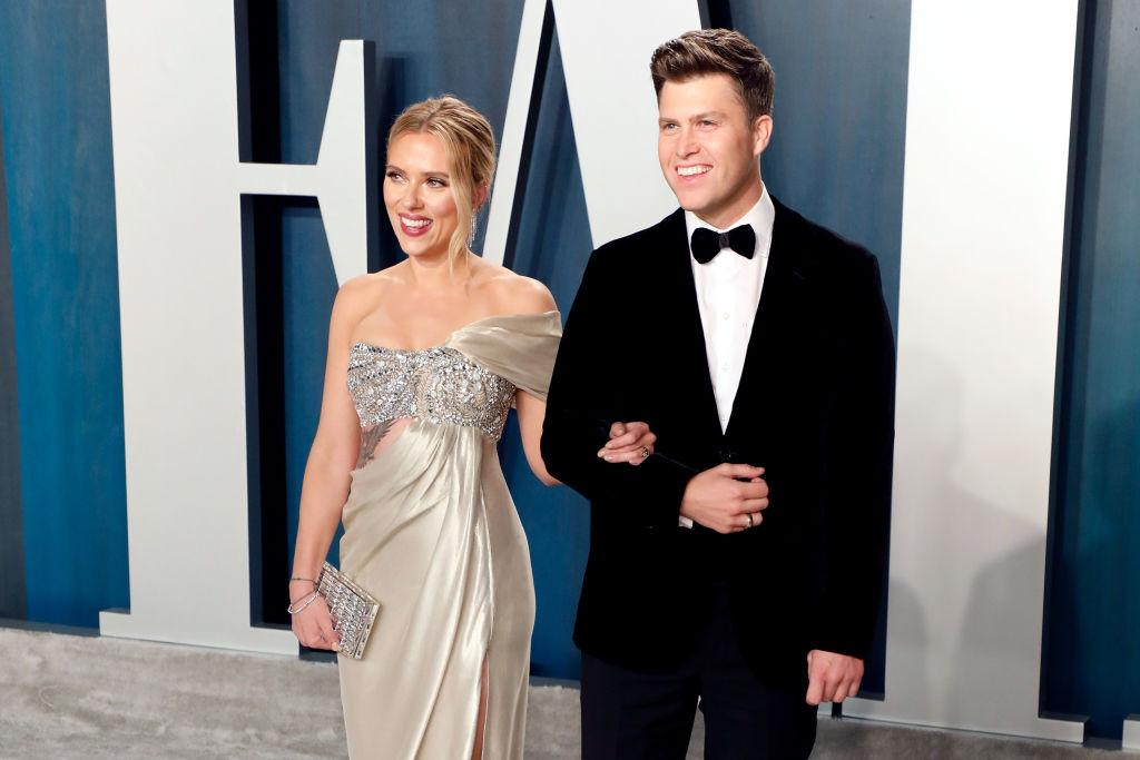 Scarlett Johansson Marries 'SNL' Writer Colin Jost In Private Ceremony