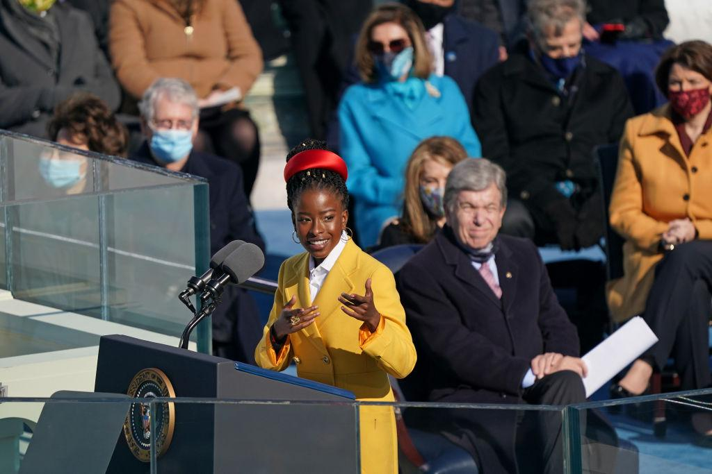 Twitter Praises Amanda Gorman's Powerful Performance At Joe Biden's Presidential Inauguration