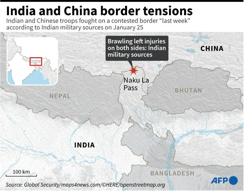 India, China Suffer New Casualties In Border Flare-up