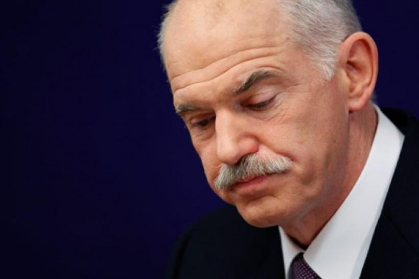 Greece PM George Papandreou