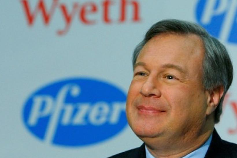 Pfizer's Kindler steps down as CEO, replaced by Ian Read