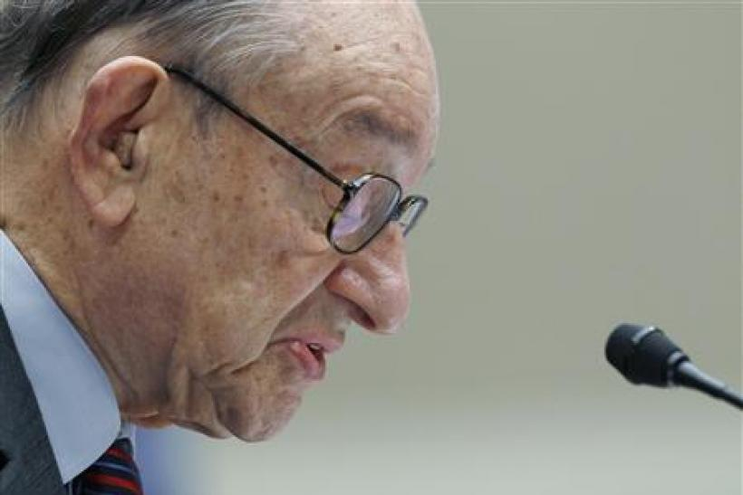 Former Federal Reserve Board Chairman Greenspan was cited as one of the main culprits in causing the financial crisis in '08.